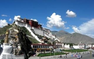 Lhasa-Potala palota