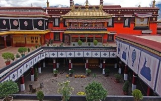 Lhasa-Jokhang-templom