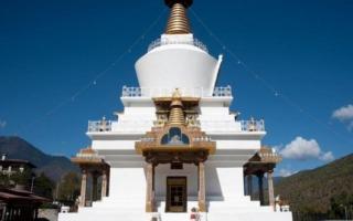 Thimpu: Chorten emlékmű