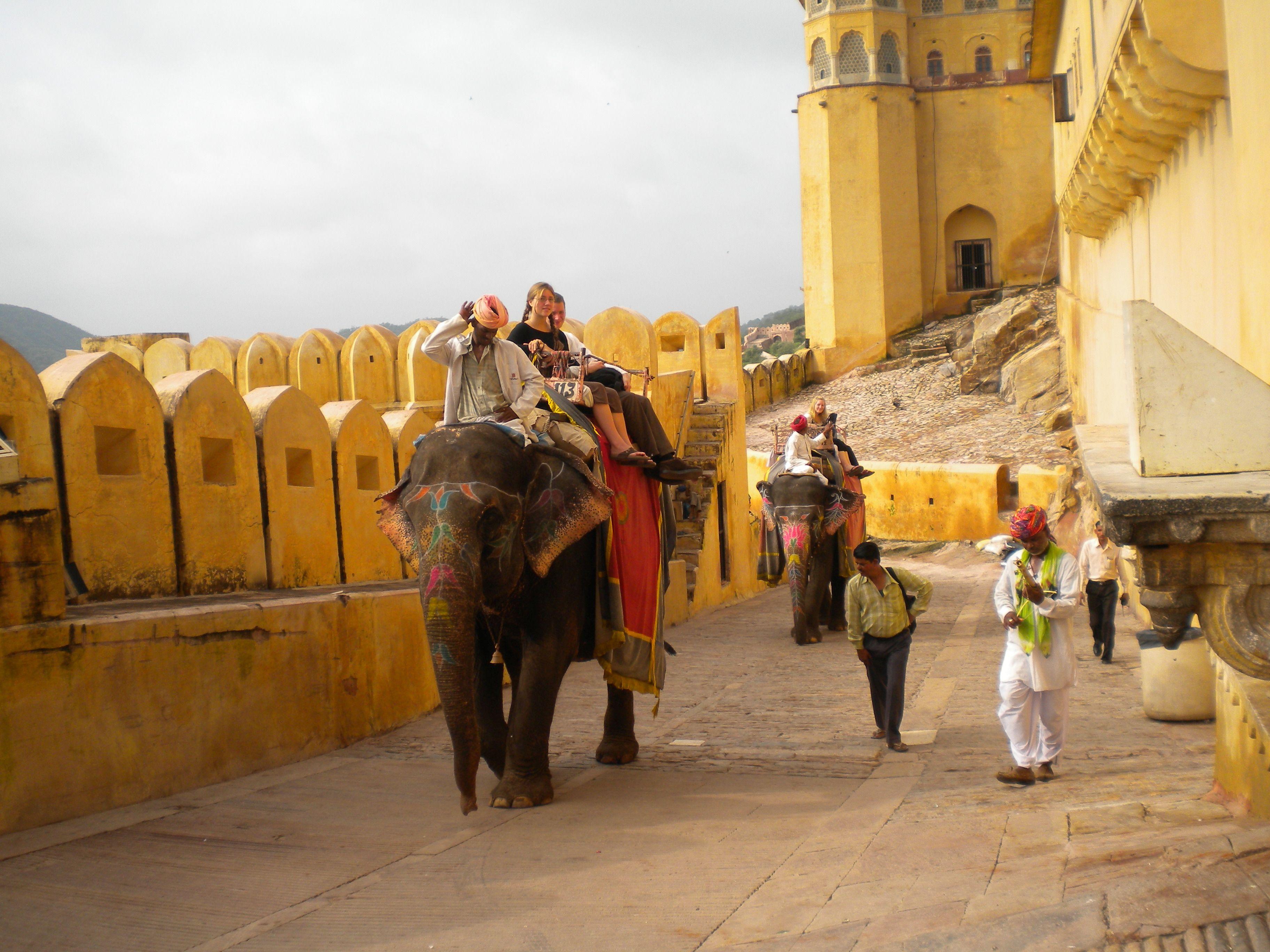 India körutazás-Amber
