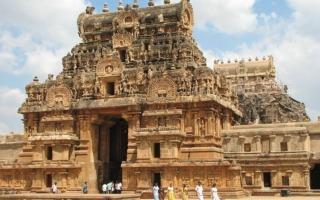 Dél-India körutazás-Thanjavur