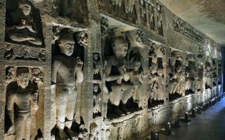 Dél-India körutazás-Ajanta-barlangok