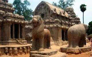 Dél-India körutazás-Mahabhalipuram