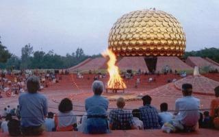 Dél-India körutazás-Auroville