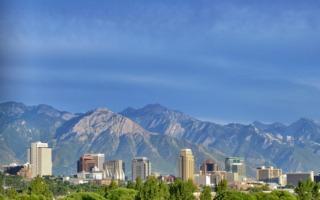 USA körutazás-Salt Lake City