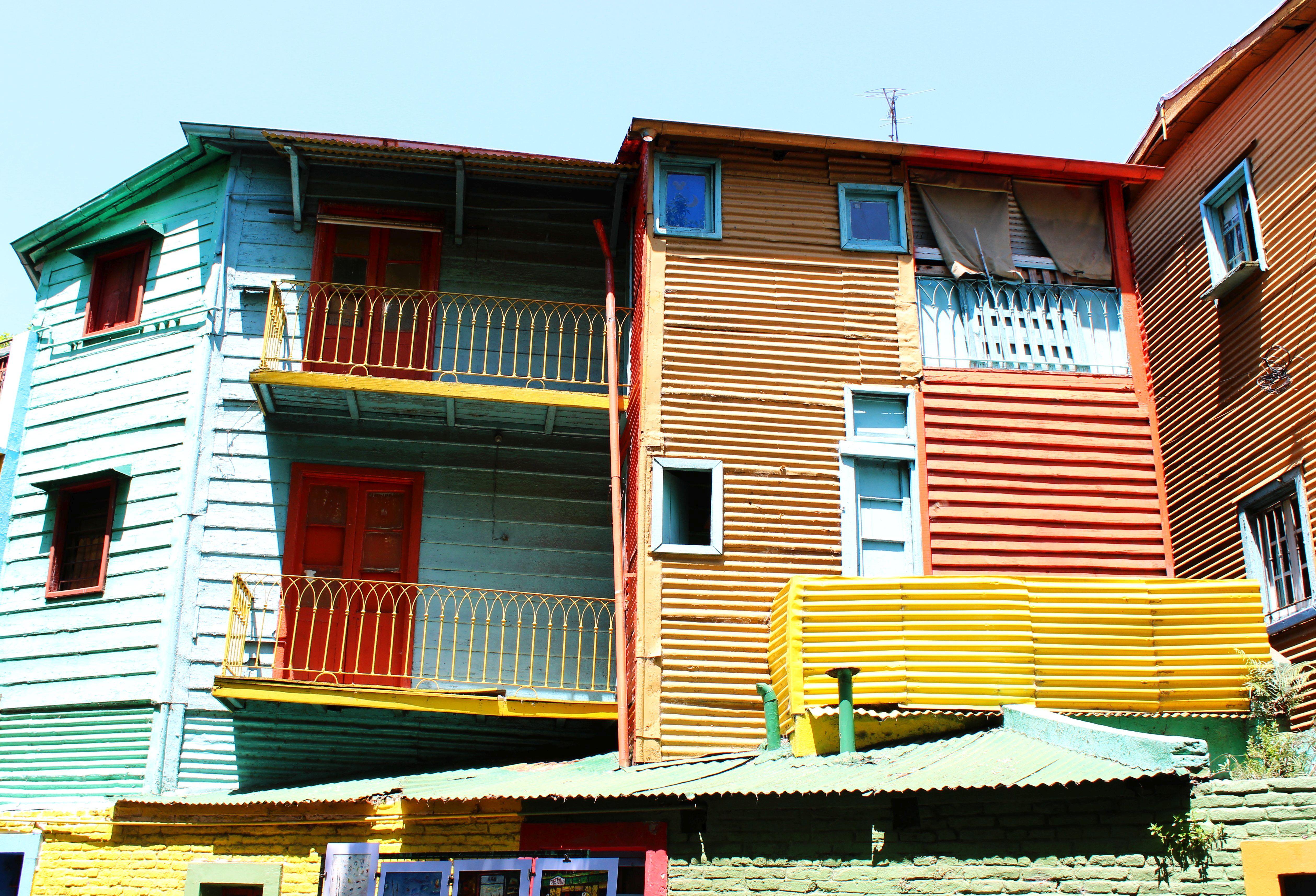 Argentína, Buenos Aires-La Boca negyed - Fotó: Papp Éva