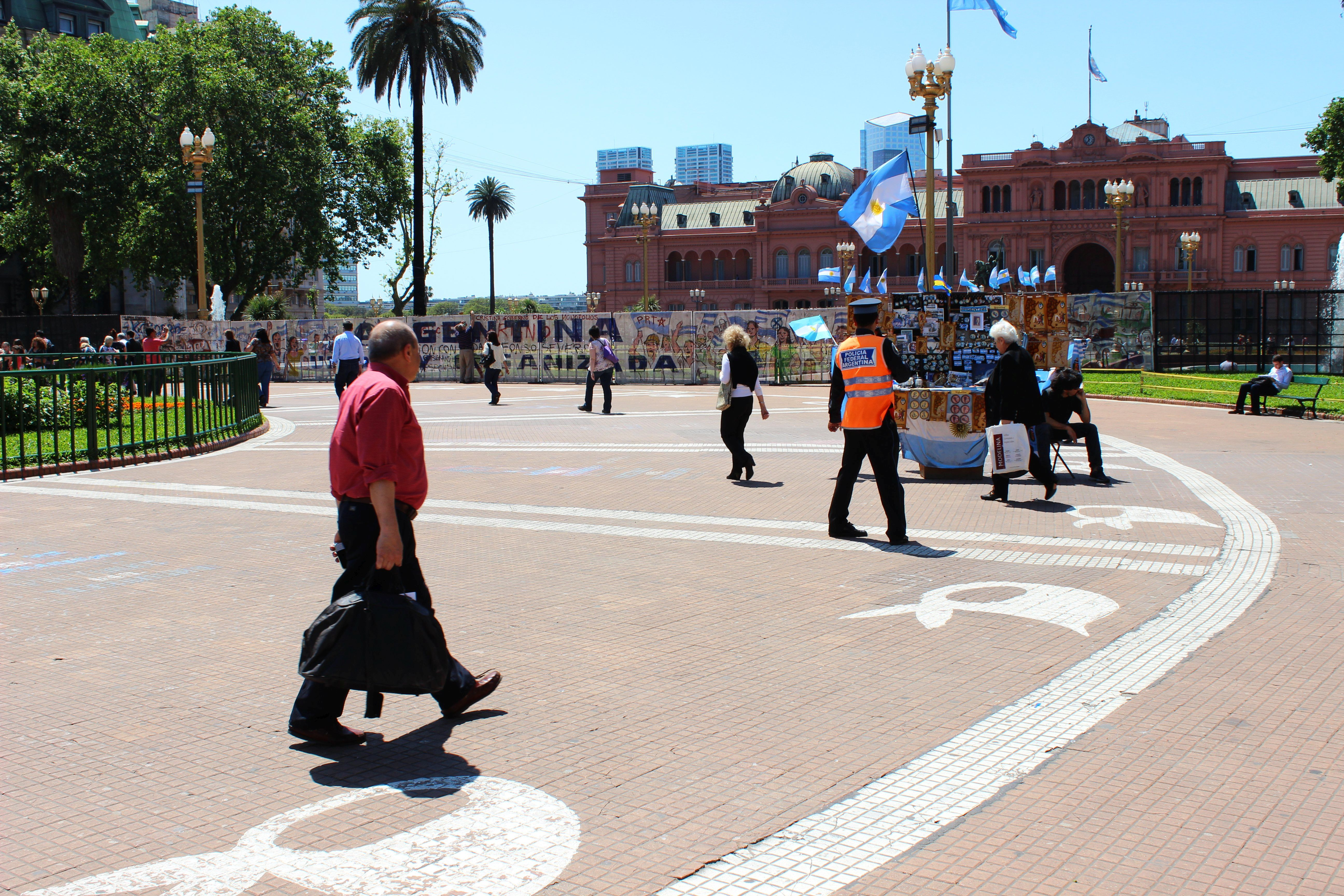 Argentína, Buenos Aires-Május tér - Fotó: Papp Éva