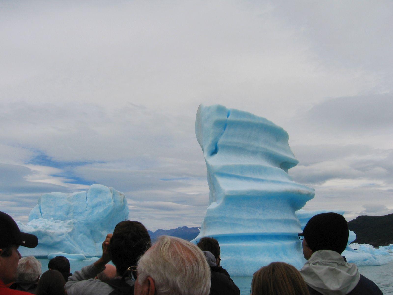 Argentína, Argentino-tó. Fotó: Papp Éva