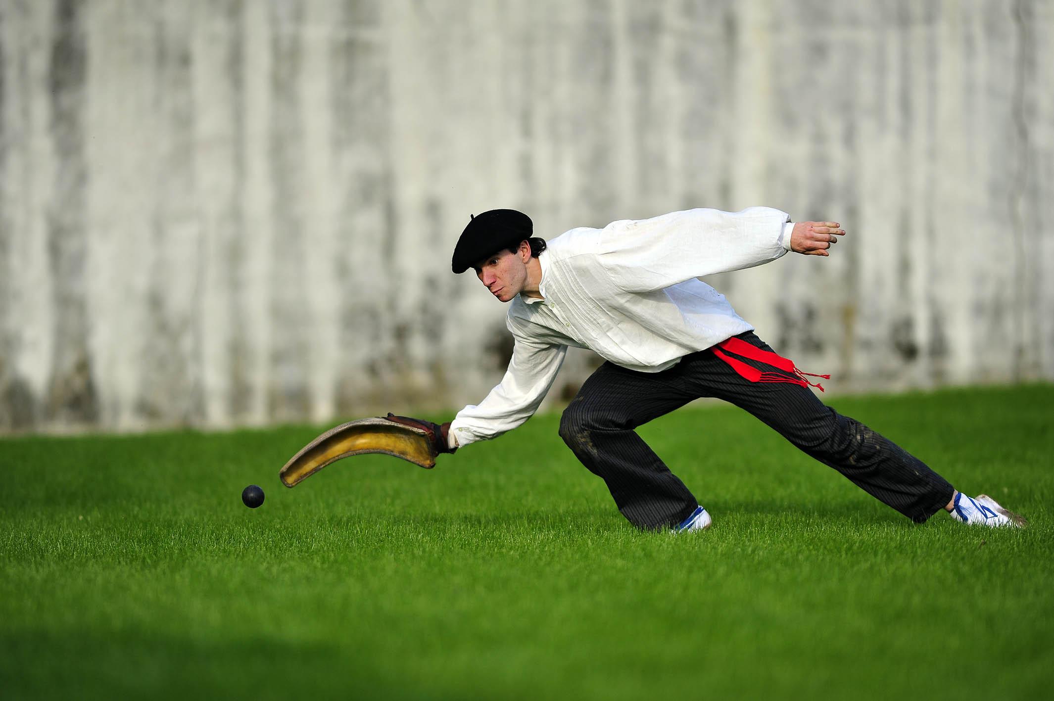 Pelotajáték baszk módra
