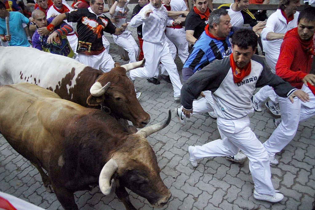 San Fermín-ünnep, Pamplona