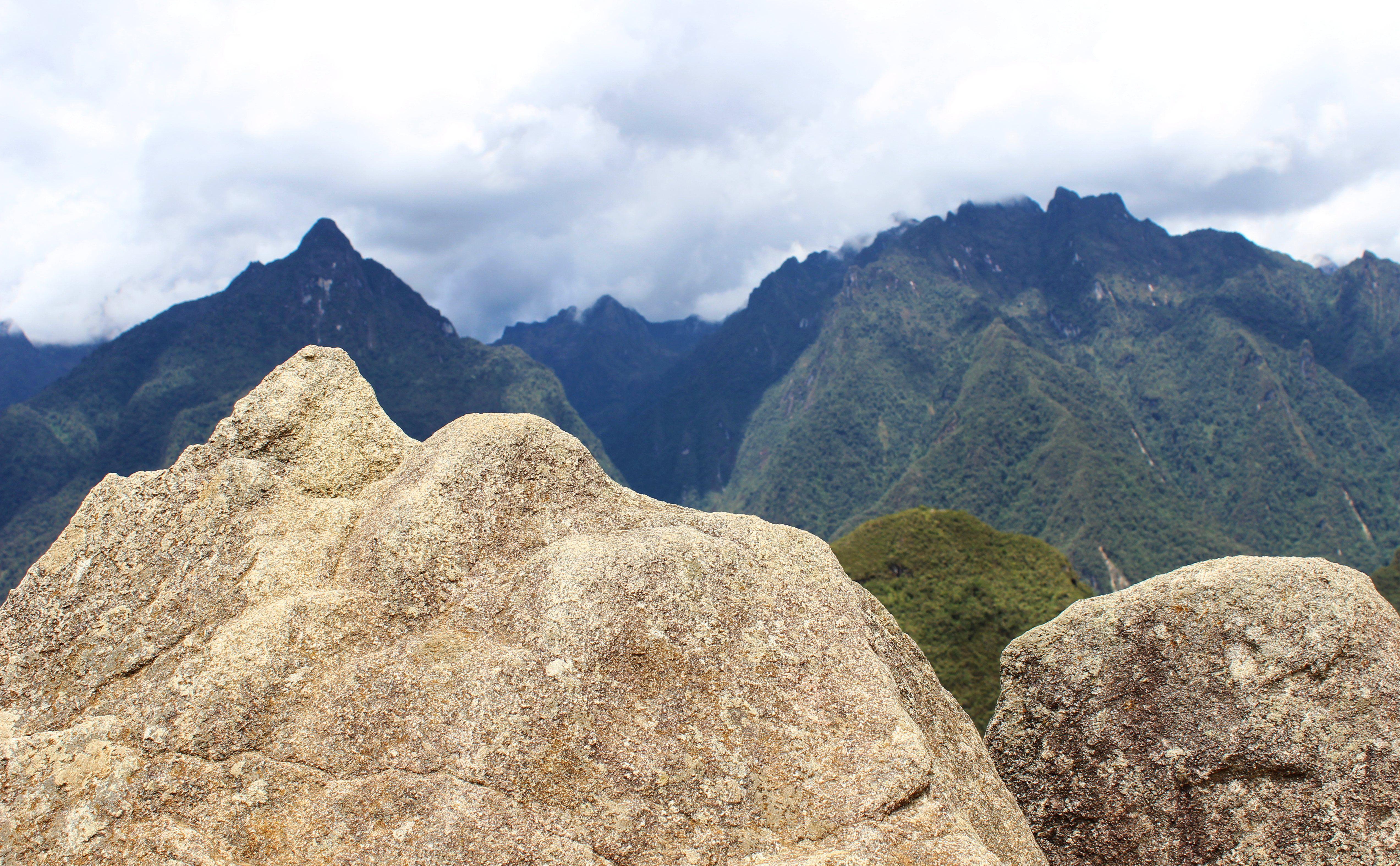 Peru -Machu Picchu. Még a sziluettek sem véletlenek! Fotó: Papp Éva