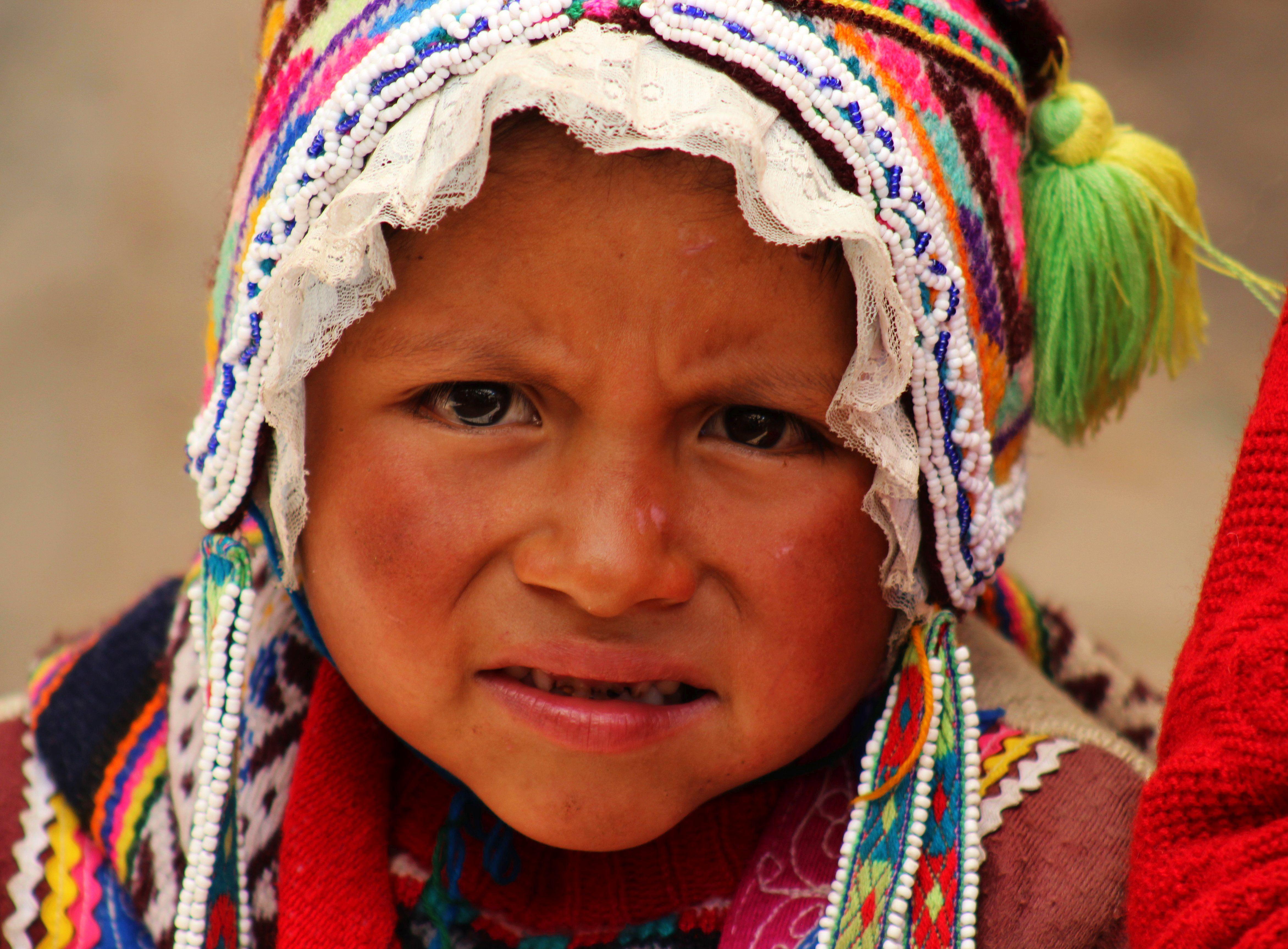 Peru - Szent Völgy., piac Pisacban. Fotó: Papp Éva