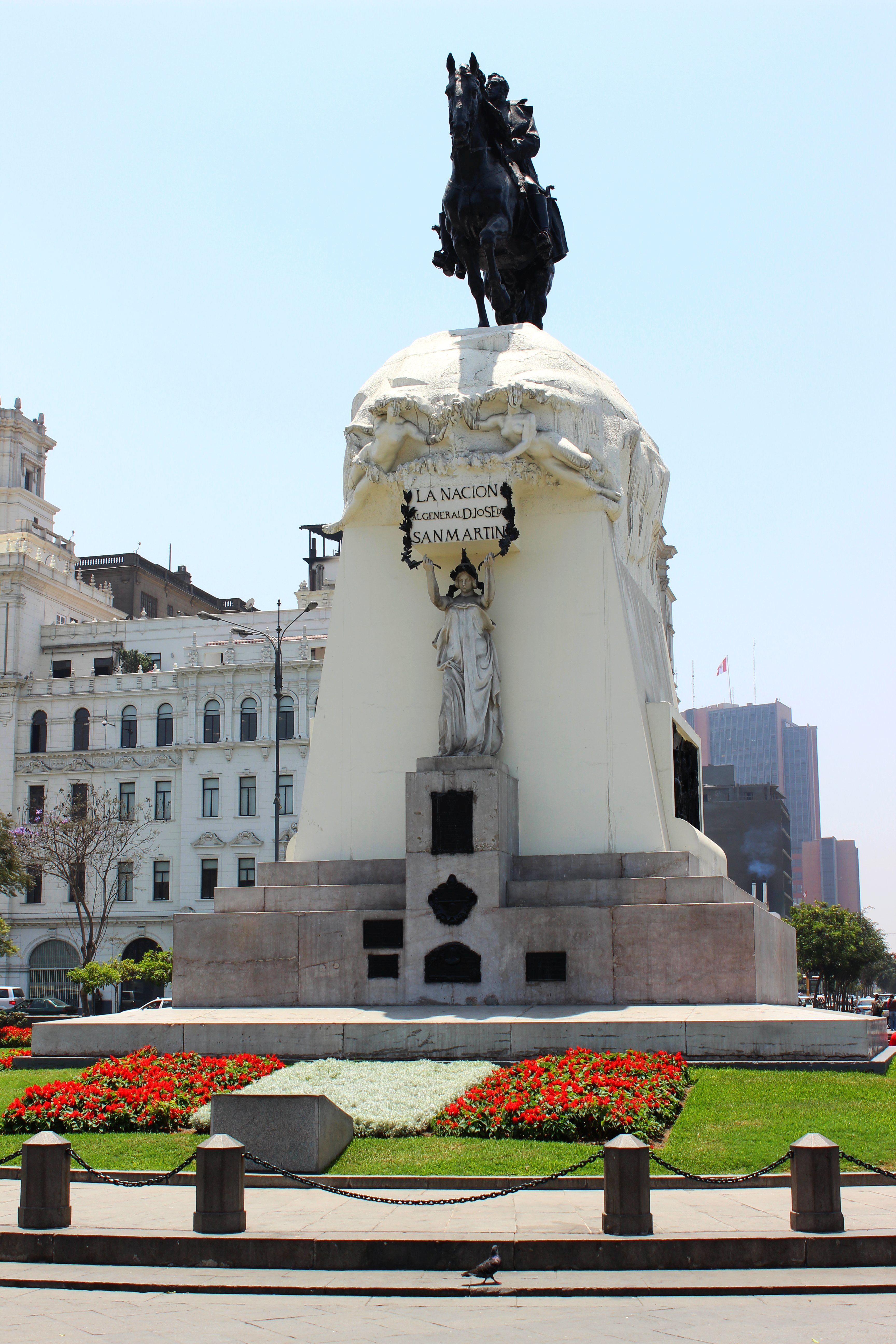 Lima - San Martín tér. Fotó:Papp Éva