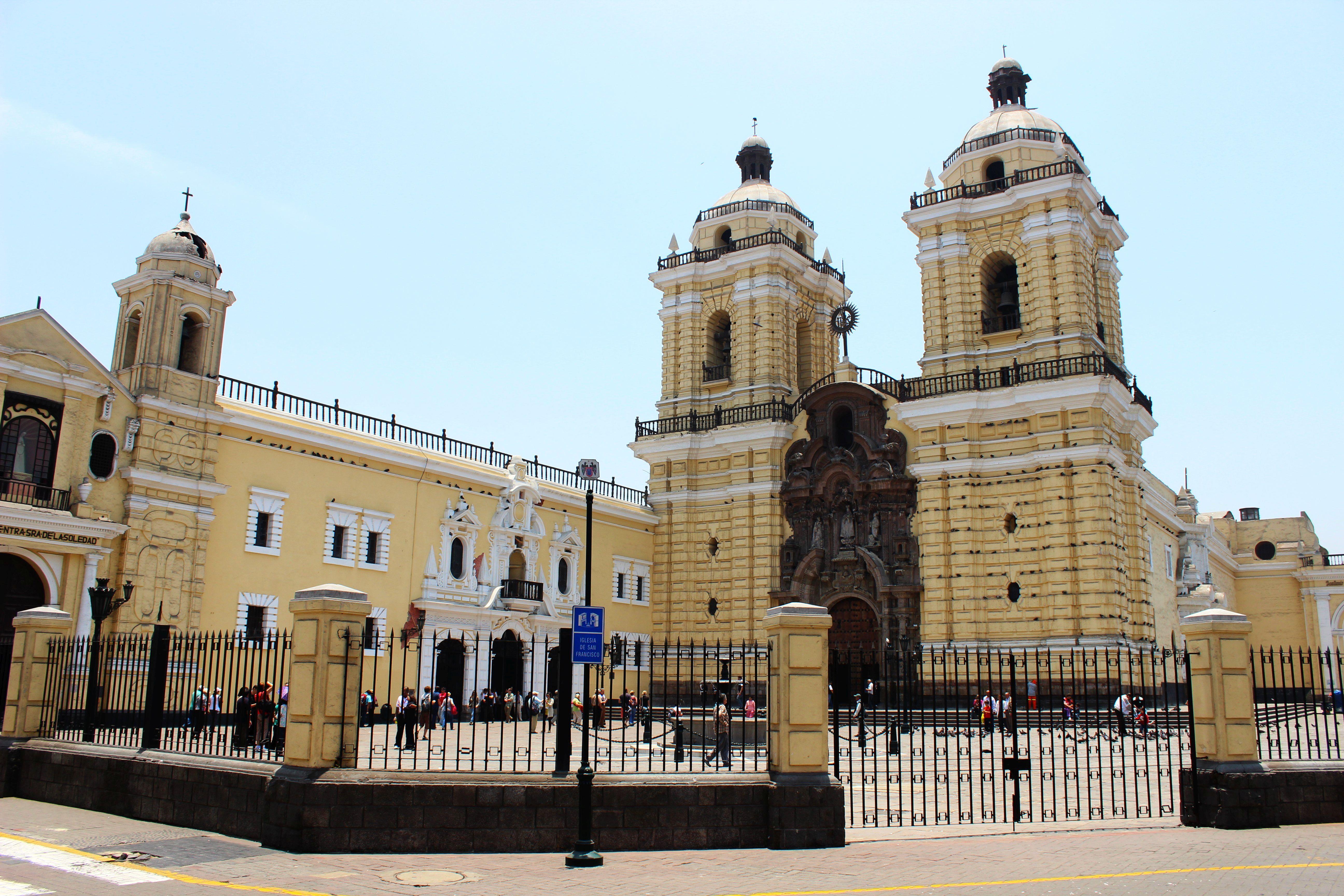 Lima-Szent Ferenc templom. Fotó: Papp Éva