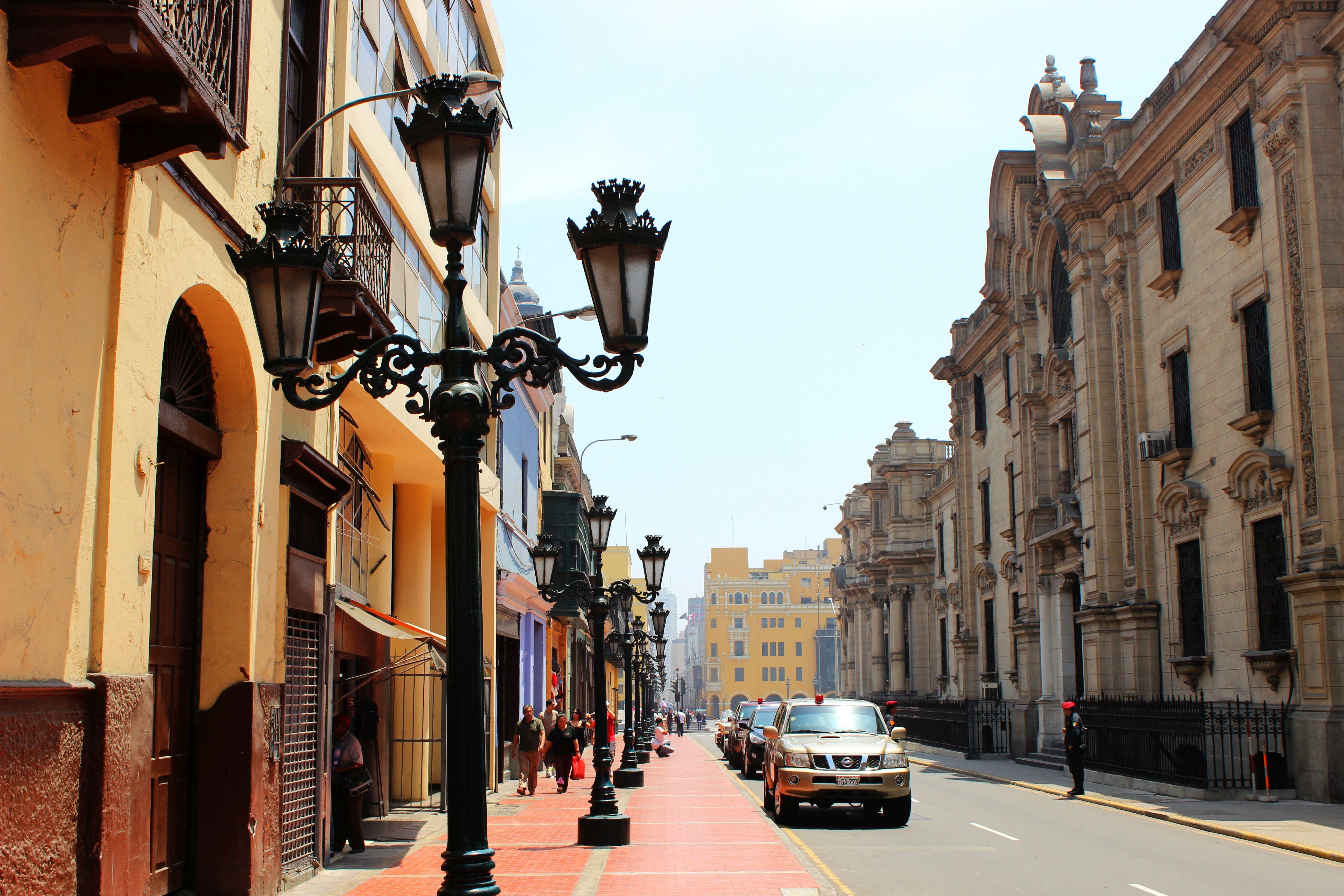 Lima - koloniális Belváros Fotó: Papp Éva