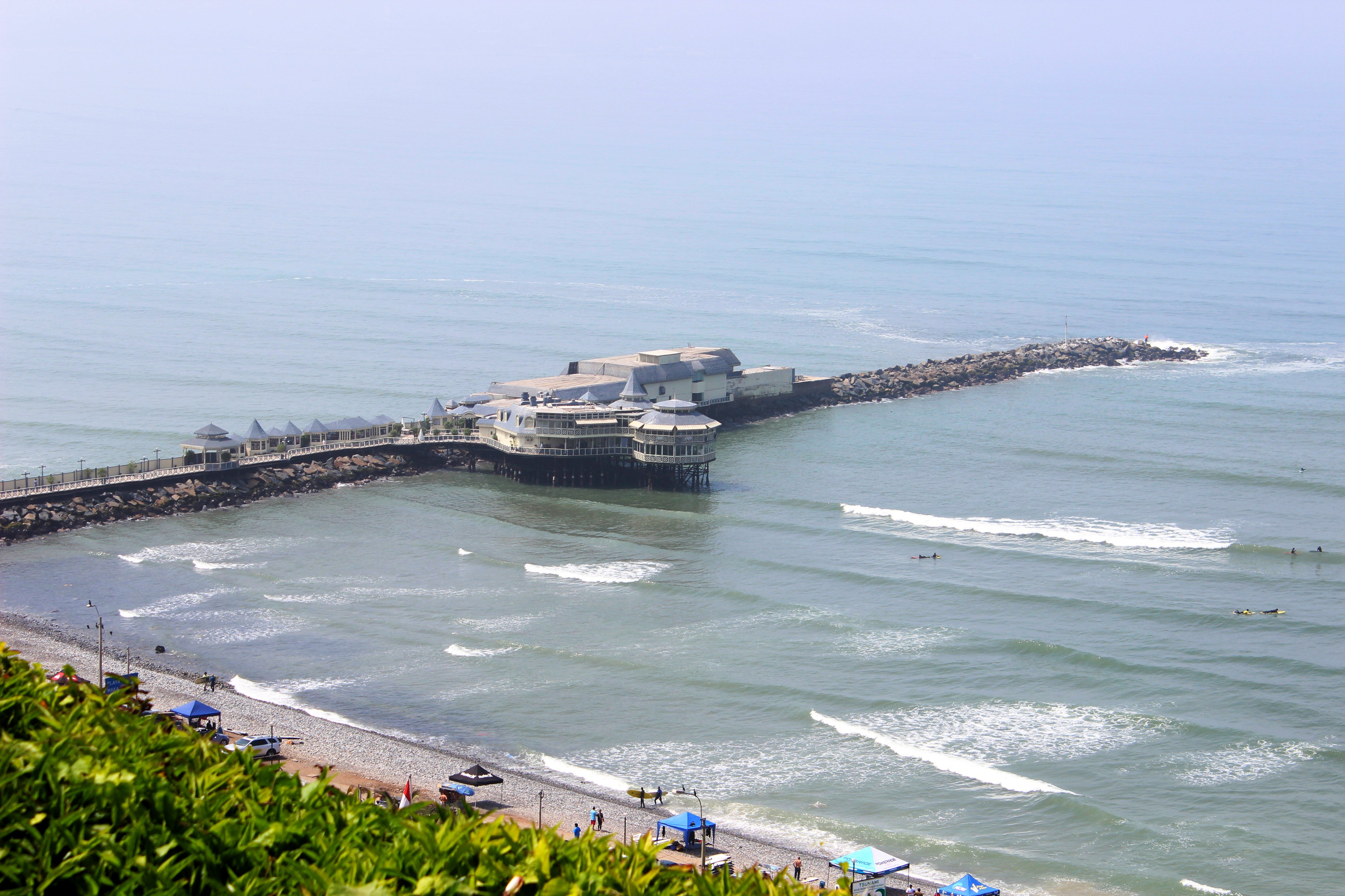 Lima- Csendes-óceán. Fotó: Papp Éva