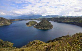 Kolumbia-Ecuador körutazás - Cuicocha-tó