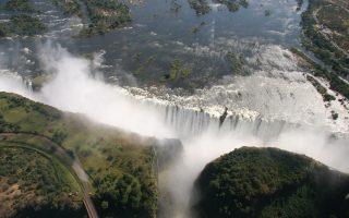 Dél-Afrika körutazás-Viktória-vízesés