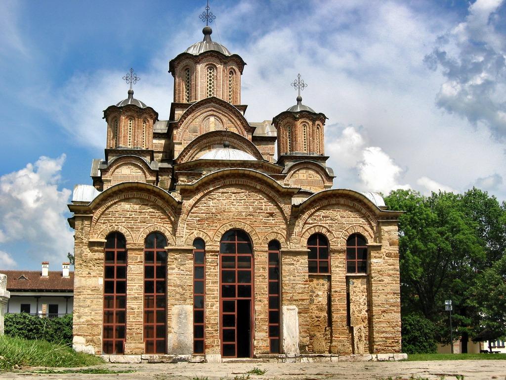 Koszovó körutazás-Gracanica-kolostor
