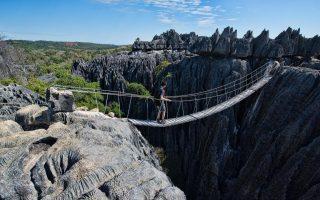 Madagaszkár körutazás - Szürke Tsingy