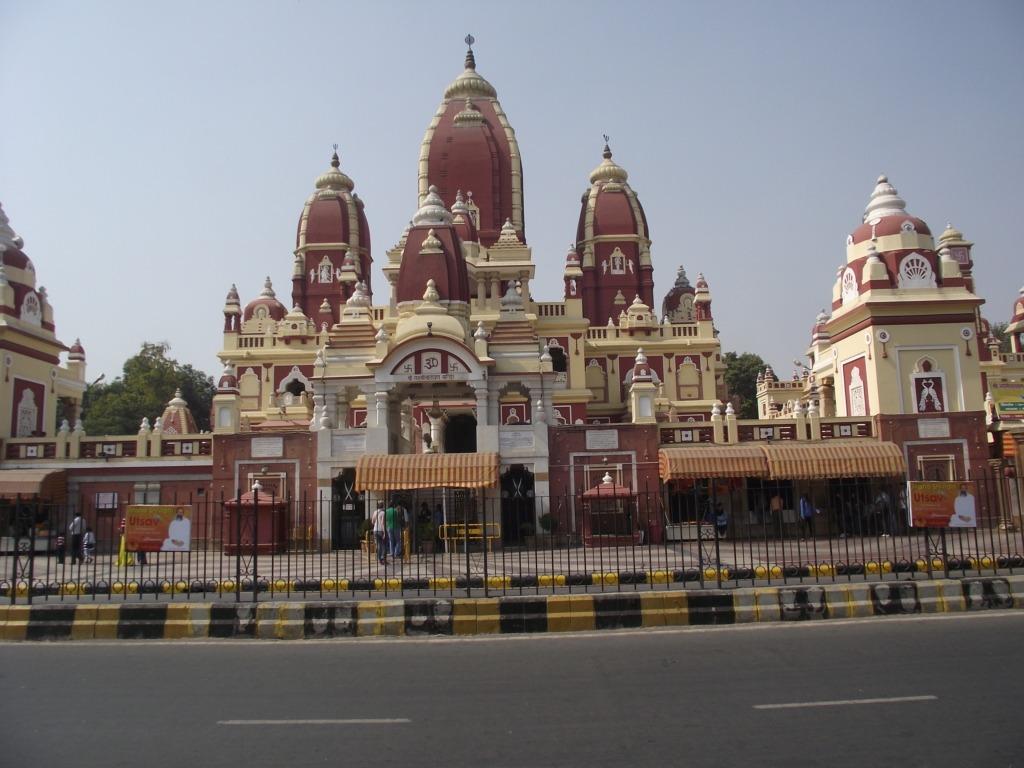 Delhi, Laxmi Narayan templom. Fotó: Papp Éva