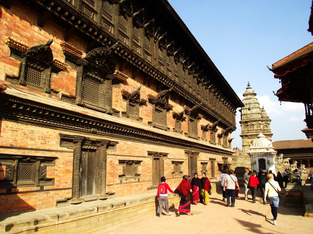 Bhaktapur. Fotó: Papp Éva