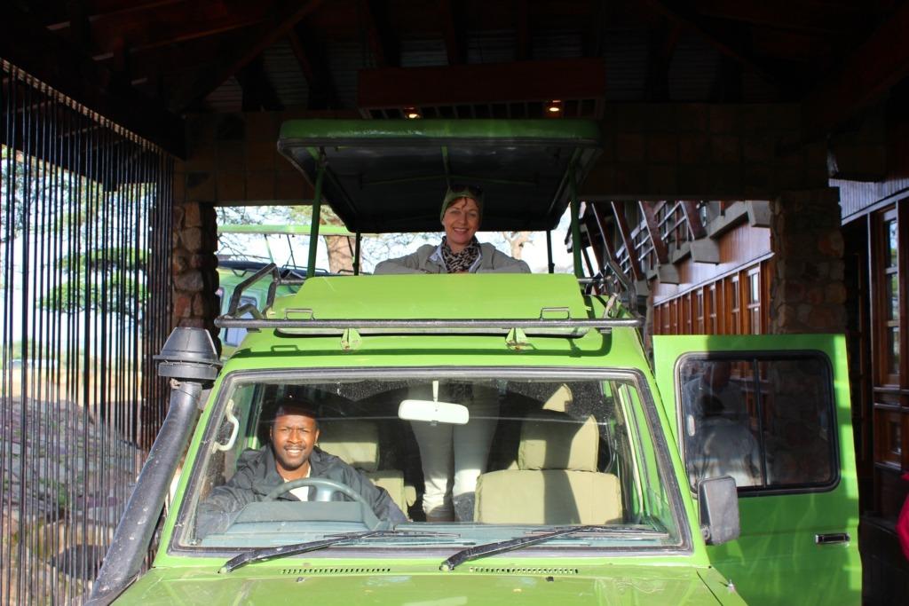 Peterrel, kedvenc sofőrünkkel...:-)