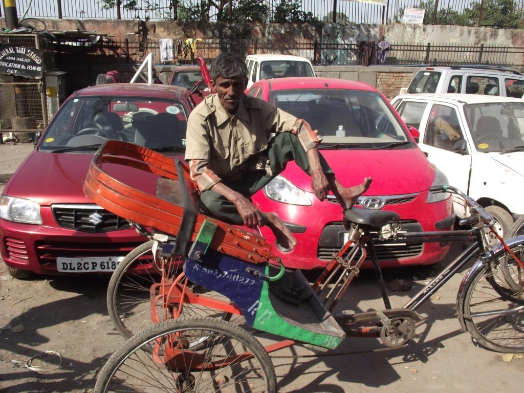 Ó-Delhi, bazár. Fotó: Papp Éva