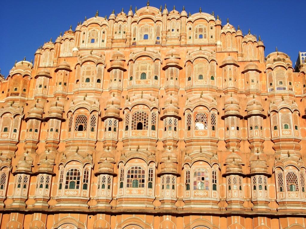 Jaipur, a Szelek Palotája. Fotó: Papp Éva